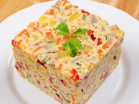 salata de boeuf Gallo family Valcea